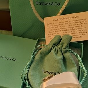 Tiffany and Company I love you ring size 6